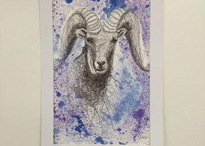 Sarah Johnson Make Your Mark Art © 2017